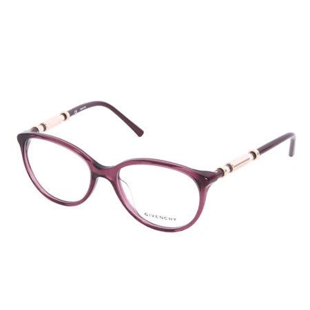GIVENCHY 法國魅力紀梵希時尚都會系列光學眼鏡(紫)GIVGV8610G42