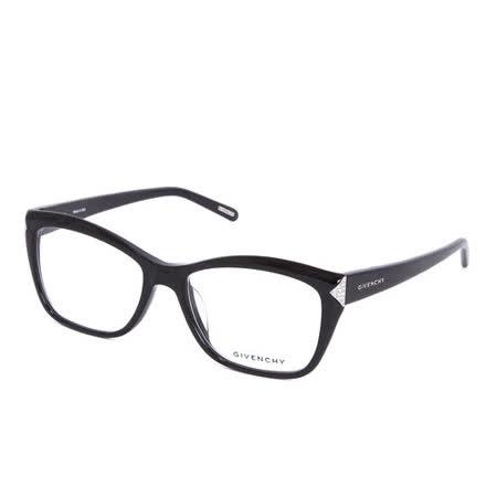 GIVENCHY 法國魅力紀梵希時尚華麗水鑽光學鏡框(黑)GIVGV868S700S