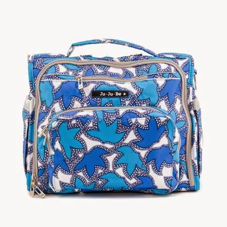 【美國JuJuBe媽媽包】BFF後背/肩背包-Sapphire Lace 湛藍寶石