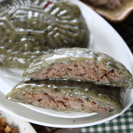 【正港小烏龜鼠麴】芋頭絲草仔粿(92g)