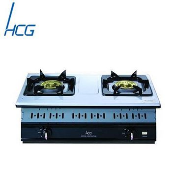 和成 GS252Q嵌入式雙環瓦斯爐 (不鏽鋼-天然瓦斯)