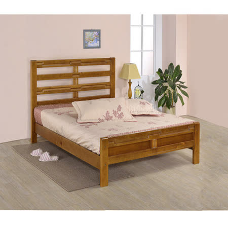 《DFhouse》王將3.5尺實木單人床