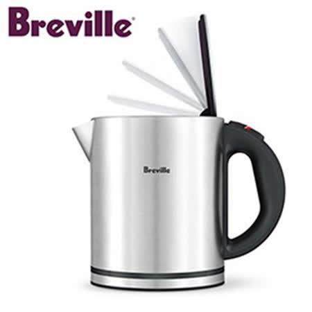 【真心勸敗】gohappy 購物網『Breville』☆鉑富 經典 1.0L 電茶壺 BKE310XL價錢板橋 舊 遠 百