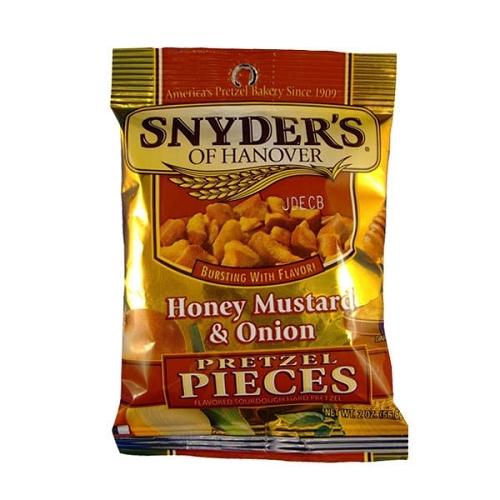 美國Snyder s Hanover蝴蝶餅~蜂蜜芥末250g
