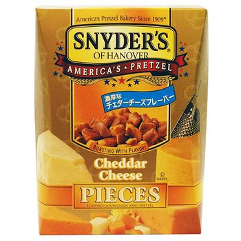 美國Snyder's Hanover蝴蝶餅-起司250g