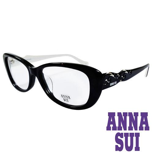 ANNA SUI 印象圖騰 眼鏡^(黑^)AS635~001