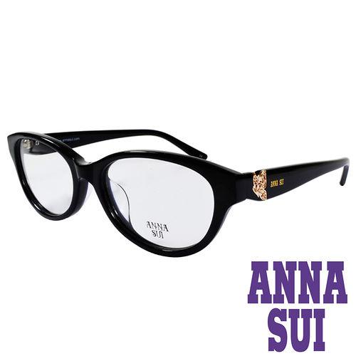 ANNA SUI 金屬蝴蝶 眼鏡^(黑^)AS634~001