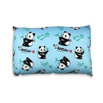 貓熊 SWEET PANDA 童枕 藍