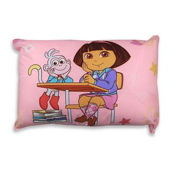 DORA 兒童中枕 粉