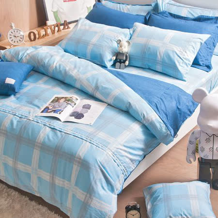 OLIVIA 《布勞森》標準雙人床包被套組