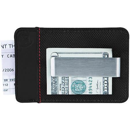 《TRAVELON》網拼防護證件鈔票夾(黑)