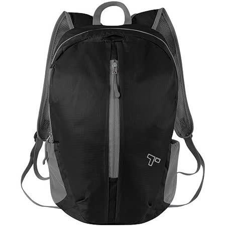 《TRAVELON》輕羽摺疊背包(黑)