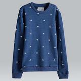 【摩達客】韓國進口設計品牌DBSW狙擊星星圓領長袖T恤