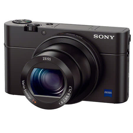 SONY DSC-RX100M3 RX100 III  類單眼數位相機(公司貨)-2/12止送64G 高速卡+原廠電池(含標配共2顆)+座充+復古皮套+迷你腳架+清潔組+保護貼+讀卡機+造型收納包