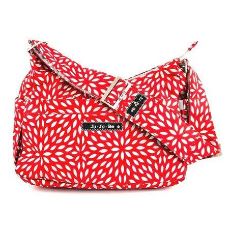 【美國JuJuBe媽咪包】HoboBe側/肩背包-Scarlet Petals緋紅花瓣