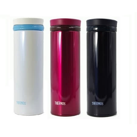 THERMOS膳魔師 超輕量不鏽鋼真空保溫杯0.35L (JNO-350)