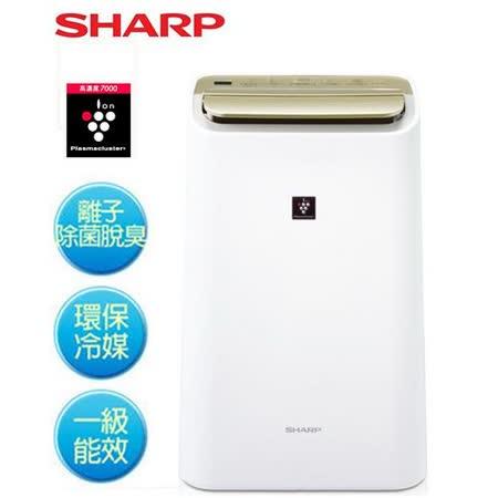 『SHARP』☆夏普10L自動除菌離子溫濕感應清淨&除濕兩用機 DW-E10FT /DWE10FT