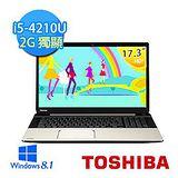 Toshiba L70 i5-4210U四核心 17.3吋智慧效能筆電 2G獨顯 (L70-00R00M)*****99配件加價購*****
