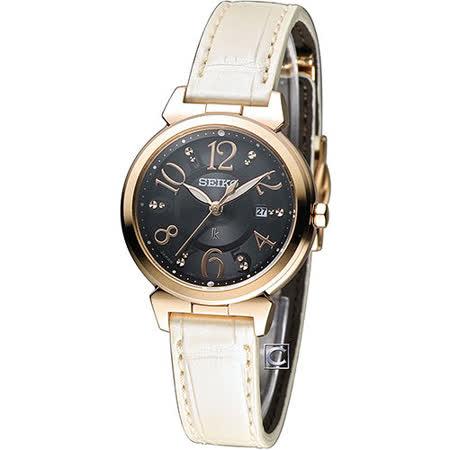 精工 SEIKO LUKIA 無限狂想曲時尚腕錶 V137-0BF0D SUT188J1