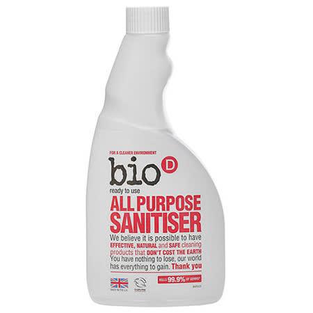 英國Bio-D噴霧式全效型制菌清潔劑(補充瓶500ml)
