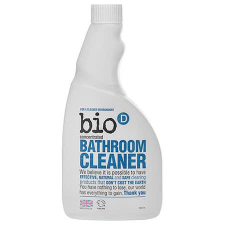 英國Bio-D噴霧式環保浴室用清潔劑(補充瓶500ml)