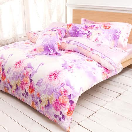 【Betrise錦上添花】雙人100%奧地利天絲TENCEL四件式兩用被床包組