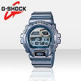 CASIO G-SHOCK藍牙智慧手錶-藍(6900AB-2DR)