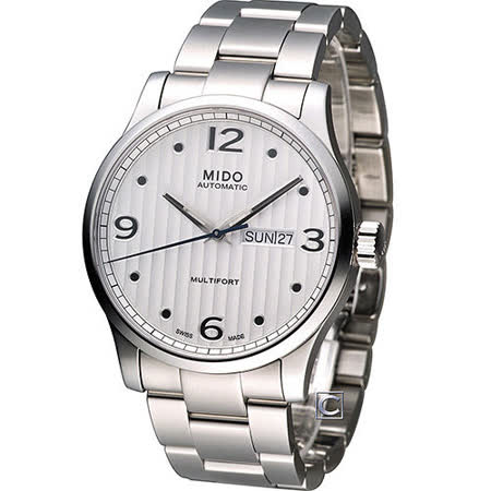 MIDO 美度 Multifort系列尊爵機械錶 M0054301103000