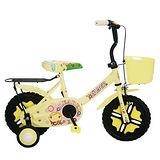 Adagio 12吋酷寶貝童車附置物籃-米色
