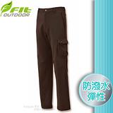 【維特 FIT】男新款 防潑保暖功能褲_FW1801 灰褐色