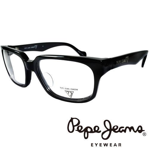 Pepe Jeans 英倫 簡約風格 光學鏡框 ^(黑^) PJ734106~001