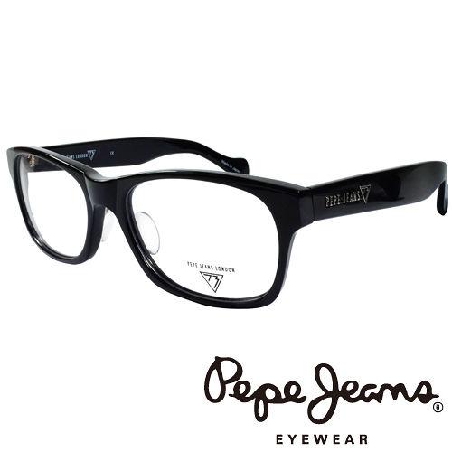 Pepe Jeans 英倫 簡約風格 光學鏡框 ^(黑^) PJ734101~001