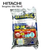 【日立HITACHI】日本原裝吸塵器專用集塵紙袋5入裝(GP110F)