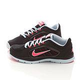 NIKE女款 FLEX TRAINER輕量慢跑運動鞋643083012-黑藍