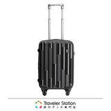 《Traveler Station》STRATIC 19.5吋超輕量拉桿箱-黑色