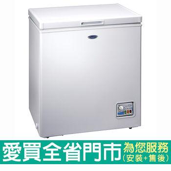 東元142L 冷凍櫃 RL1481W    含配送到府+標準                              安裝