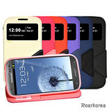 【Roarkorea】Samsung Galaxy S3 開框磁扣式時尚翻頁質感皮套