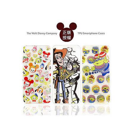 迪士尼授權正版 Disney iPhone 6 plus 5.5吋 透明彩繪軟式保護殼 手機殼(玩具總動員/米奇款)