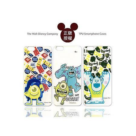 迪士尼授權正版 Disney iPhone 6 plus 5.5吋 透明彩繪軟式保護殼 手機殼(怪獸大學款)