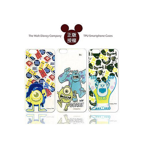 迪士尼  Disney iPhone 6 4.7吋 透明彩繪軟式保護殼 手機殼^(怪獸大學