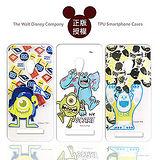 迪士尼授權正版 Disney ASUS ZenFone 5 / A500CG 透明彩繪軟式保護殼 手機殼(怪獸大學款)