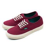 女 VANS 休閒時尚鞋--Authentic Slim 酒紅 42012105