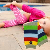 美國 BabyLegs 嬰幼兒襪套 (競速條紋)