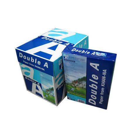 【Double A 影印紙】80P A4 多功能紙 (5包/箱)