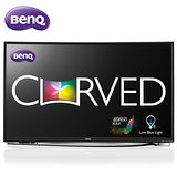 BenQ 55吋 曲面LED液晶顯示器+視訊盒(55RU6600) 送HDMI線+數位天線+清潔組+好禮三選一