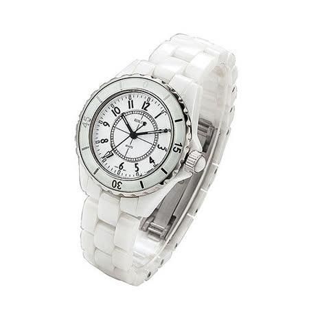HANLIN經典時尚高檔珍珠陶瓷錶HY-322