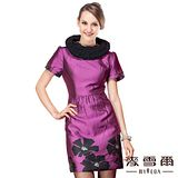 【麥雪爾】花澤感花朵造型洋裝
