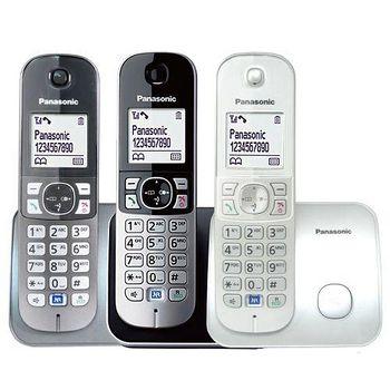 松下原廠公司貨 中文機 Panasonic KX-TG6811 DECT數位中文無線電話 (超值雙好禮)