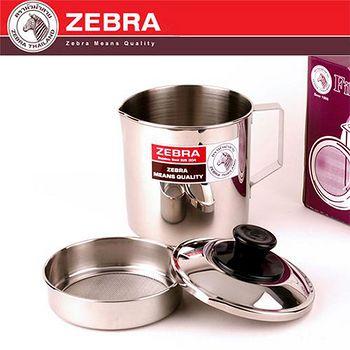 斑馬 ZEBRA 304不鏽鋼附濾網油壺 12CM/1L