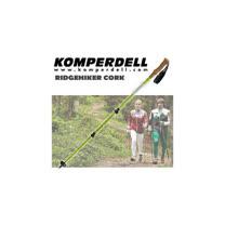 【KOMPERDELL奧地利】RIDGEHIKER CORK強力鎖定軟木握把登山杖 (僅280g/單支銷售)_1742420-10